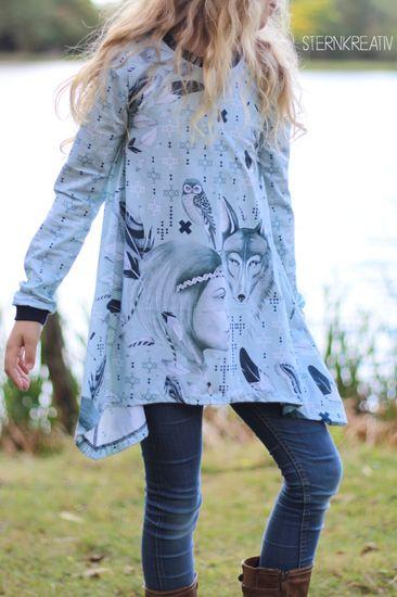 Produktfoto für Schnittmuster Lottis Zipfelshirt von MiToSa-Kreativ