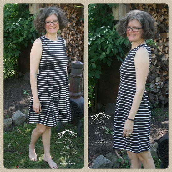 Foto zu Schnittmuster Damenkleid Marie von pattydoo