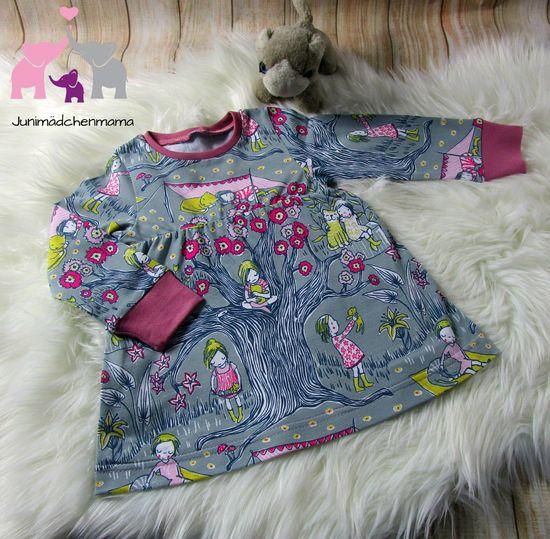 Produktfoto für Schnittmuster Kinderkleid von klimperklein