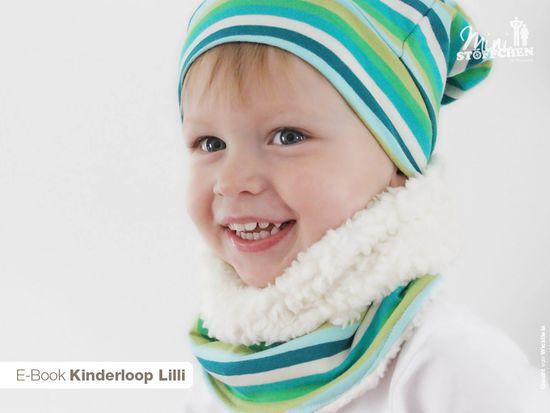 Produktfoto für Schnittmuster Kinderloop Lilli von Khanysha