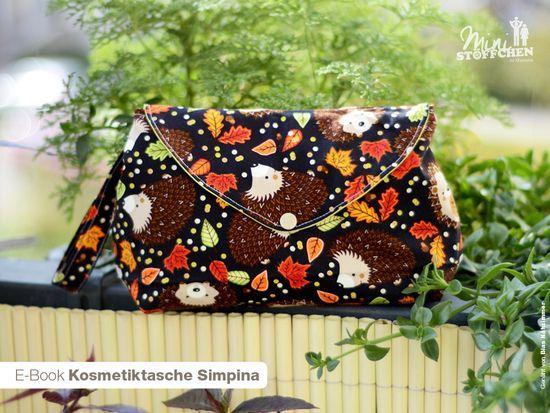Produktfoto für Schnittmuster Kosmetiktasche Simpina von Khanysha