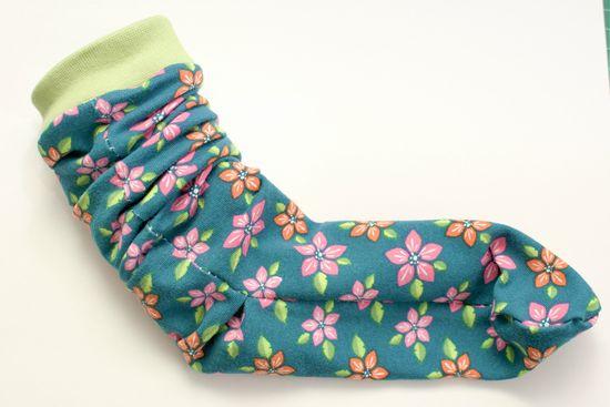 Schnittmuster Socken Größe 19-34 von andereseite als e-book für Jungen, Mädchen in Kategorie Sonstiges