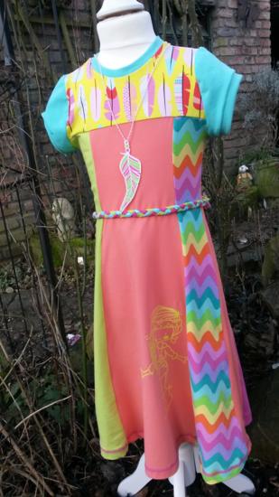 Produktfoto für Schnittmuster Jerseykleid Linnea von Die kleine Stoffmaus