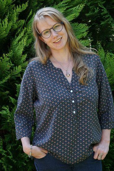 Foto zu Schnittmuster Cheyenne Tunika und Bluse von Hey June Patterns