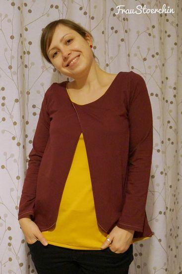 Foto zu Schnittmuster Mama-Multishirt von Berlinerie