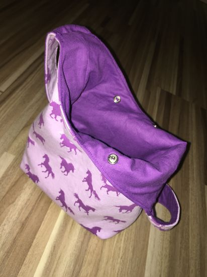 Foto zu Schnittmuster Jersey-Tasche Lexi von Lilexxleli