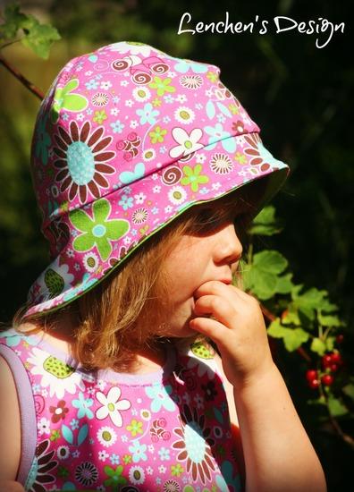 Produktfoto für Schnittmuster Sommerhut Noel von drei eMs