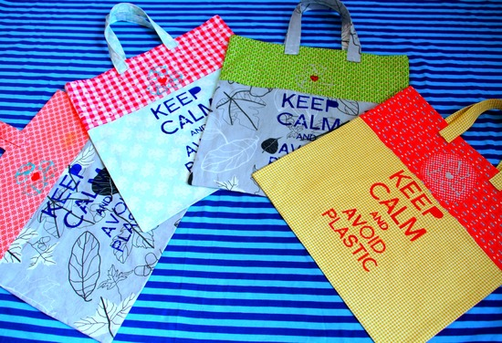 Foto zu Schnittmuster Roll up Bag von bellaina