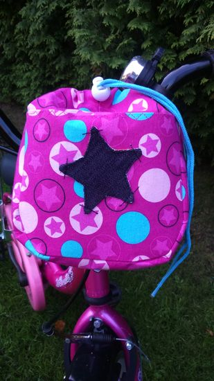 Foto zu Schnittmuster Fahrradtasche drive&carry small von sweet things (for little kings)