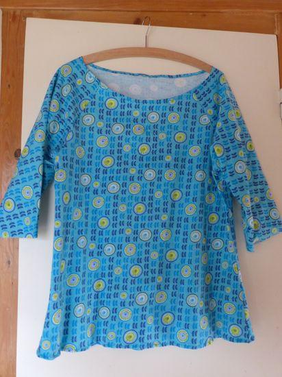 Foto zu Schnittmuster Shirt Tunturi von Näähglück - by Sophie Kääriäinen