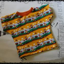 Foto zu Schnittmuster Baby Dress #22: Baby-Shirt von Betty-Baby