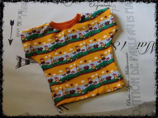 Produktfoto für Schnittmuster Baby Dress #22: Baby-Shirt von Betty-Baby