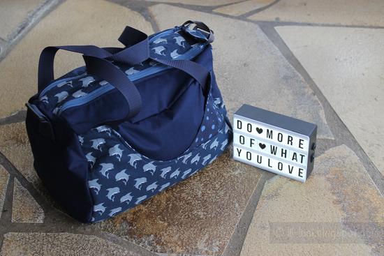 Produktfoto für Schnittmuster Kleine Sporttasche Yari von Frau Scheiner