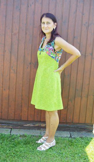 Produktfoto für Schnittmuster Kleid PETITE Angie von SchnittmusterLounge