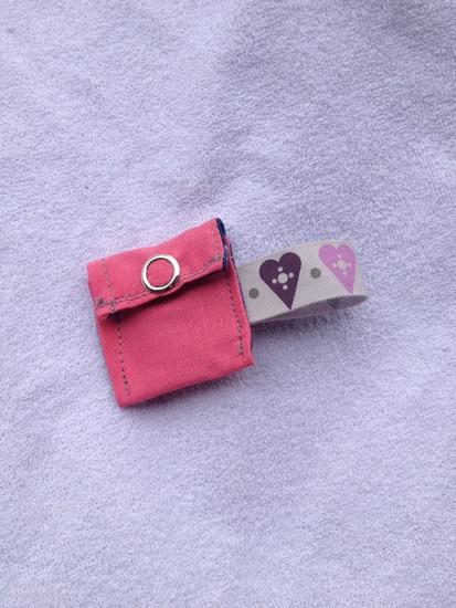 Produktfoto für Schnittmuster Chiptäschchen von Bunte Knete von Frl. Päng
