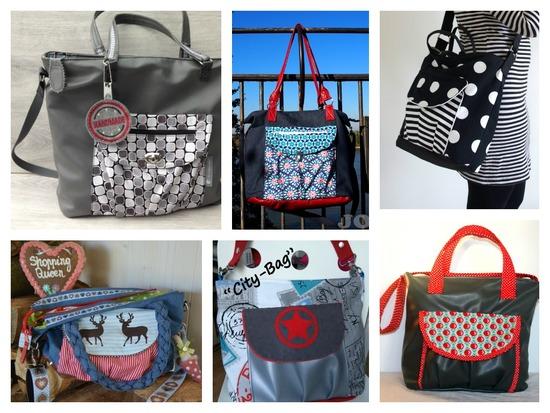 Produktfoto für Schnittmuster Tasche Citybag von Keko-Kreativ