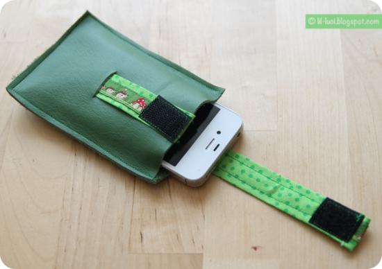Schnittmuster Handybag Easylift von Danaila als e-book in Kategorie Taschen
