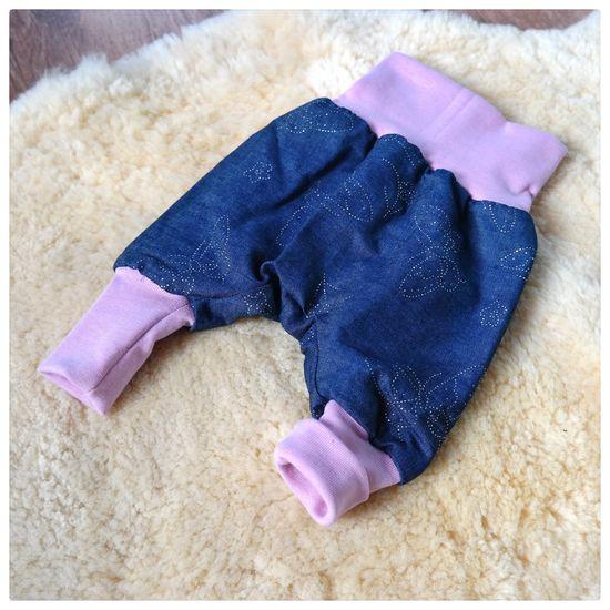 Foto zu Schnittmuster Baby-Pumphose von Lybstes