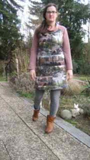 Produktfoto für Schnittmuster Kleid Sonia_B von B-Patterns