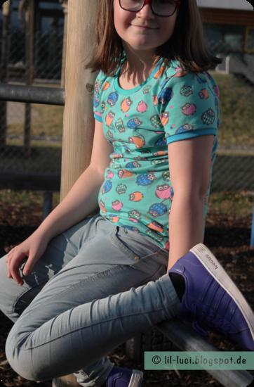 Produktfoto für Schnittmuster Slimfit-Shirts Hänsel & Gretel von Erbsenprinzessin