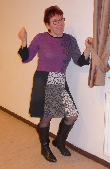 Foto zu Schnittmuster Fräulein Kleinseins Kleidchen von Sandy's Nähkästchen