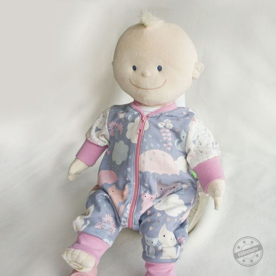 Produktfoto für Schnittmuster Jolly Jumper für Puppen von Lybstes