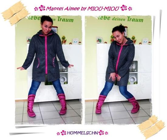 Schnittmuster Mantel/Jacke Aimee V8090 von Miou Miou als Papierschnitt für Damen in Kategorie Jacke