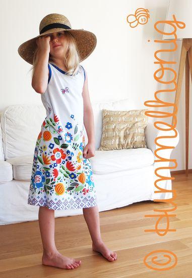 Produktfoto für Schnittmuster Giraffe - Tanktop Kleid von Hummelhonig