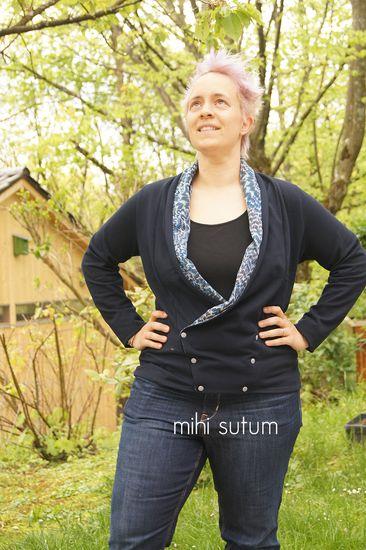 Schnittmuster Alegra von Das Milchmonster als e-book für Damen in Kategorie Jacke