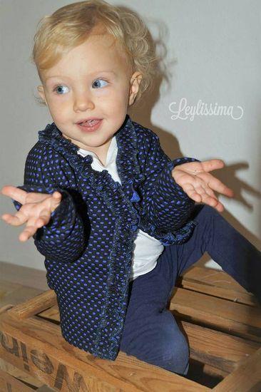 Schnittmuster Cardigan #Penelope Kids von Laneli als e-book, DIN A0-Datei für Mädchen in Kategorie Jacke (86–146)