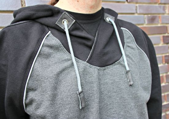 Produktfoto für Schnittmuster Crooked Hoodie for men von Schnittverhext