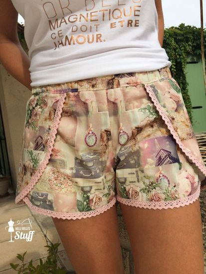 Produktfoto für Schnittmuster Damenshorts Ibiza von Pech & Schwefel