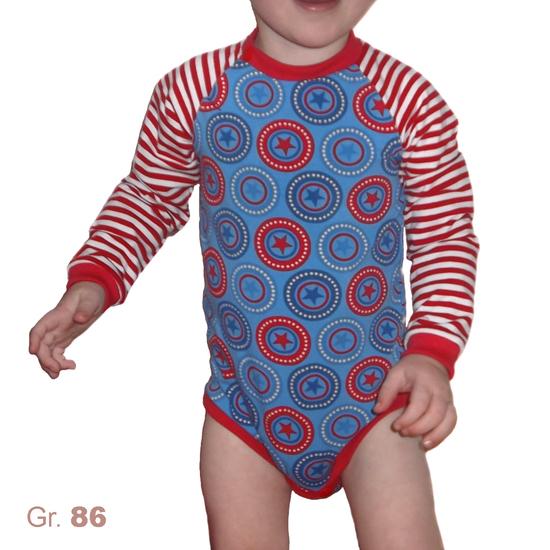 Schnittmuster Raglan-Baby-Body Smartie von Muhküfchen Design