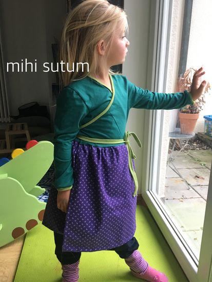 Produktfoto für Schnittmuster Wickelkleid Selkie von tragmal