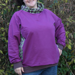 Foto zu Schnittmuster Basic Raglan Sweater von ki-ba-doo