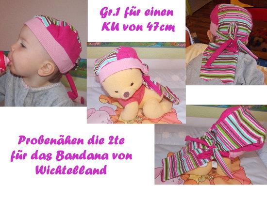 Foto zu Schnittmuster Bandana von Wichtelland
