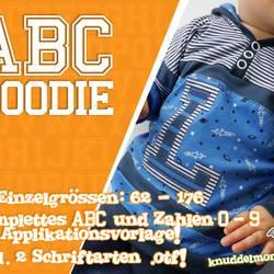 Foto zu Schnittmuster ABC Hoodie von Knuddelmonster