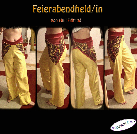 Foto zu Schnittmuster Feierabendheld(in) - alte Version von Hilli Hiltrud