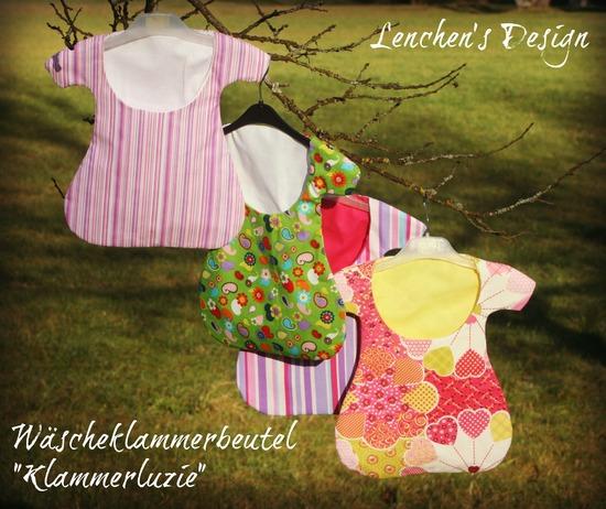 Produktfoto für Schnittmuster Klammerluzie von made by cataffo