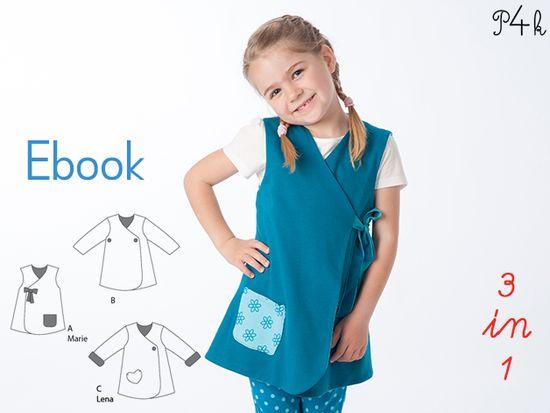 Foto zu Schnittmuster Marie von Pattern 4 kids