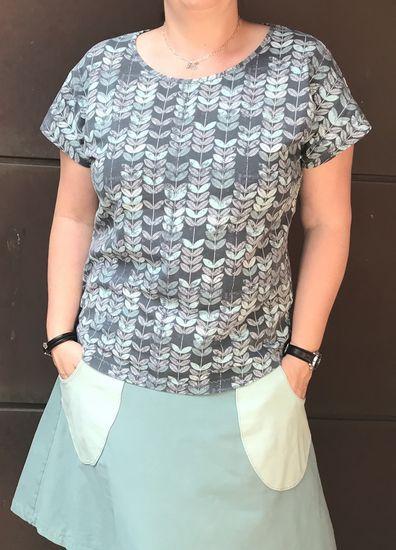 Produktfoto für Schnittmuster TEASY.shirt von Leni Pepunkt