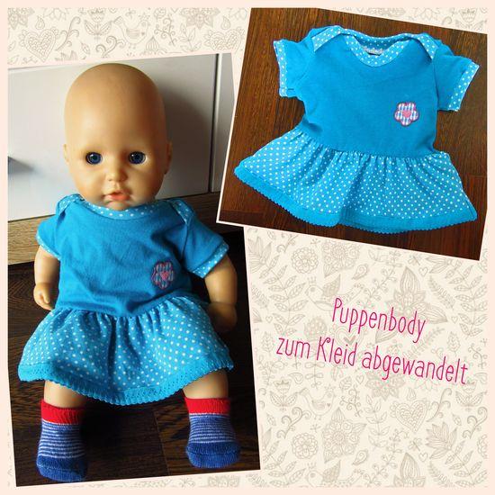 Produktfoto für Schnittmuster Puppenbody von Schnabelina