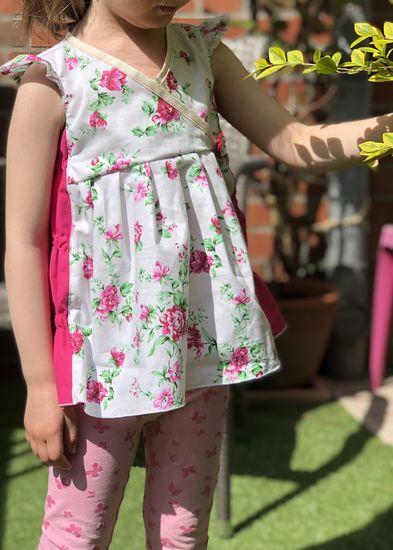 Produktfoto für Schnittmuster Sommerbluse Karys (Version 2.0) von olilu