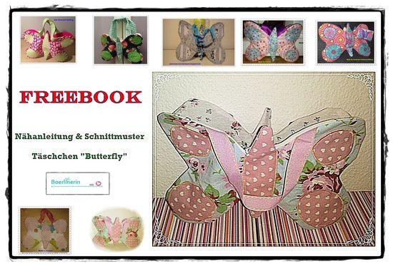 Foto zu Schnittmuster Butterfly Täschchen von Boerlinerin
