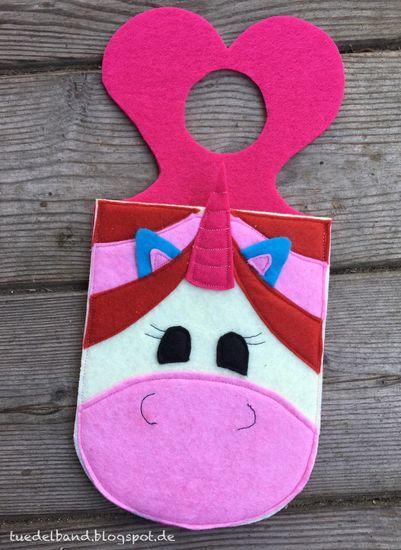 Produktfoto für Schnittmuster Handyladetasche Einhorn von kullaloo