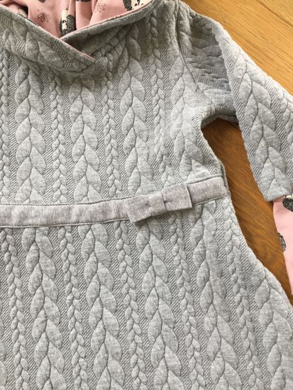 Produktfoto für Schnittmuster Mini Kuschelkleid von Anni Nanni