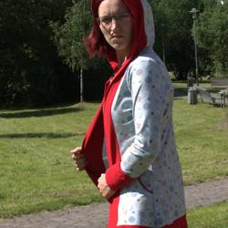 Foto zu Schnittmuster Miss Kapuzenkäfa Cardigan von Käfachen