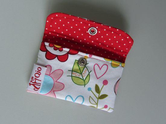 Schnittmuster Kartentäschchen von stoffbreite als e-book in Kategorie Taschen
