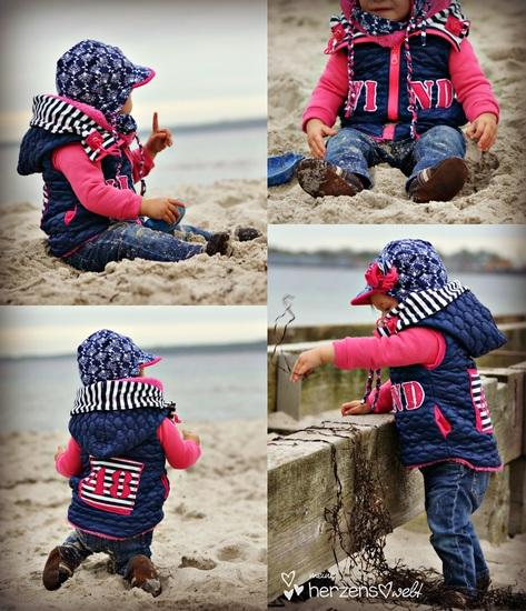 Produktfoto für Schnittmuster Steppweste/Jacke Liivi von FeeFee