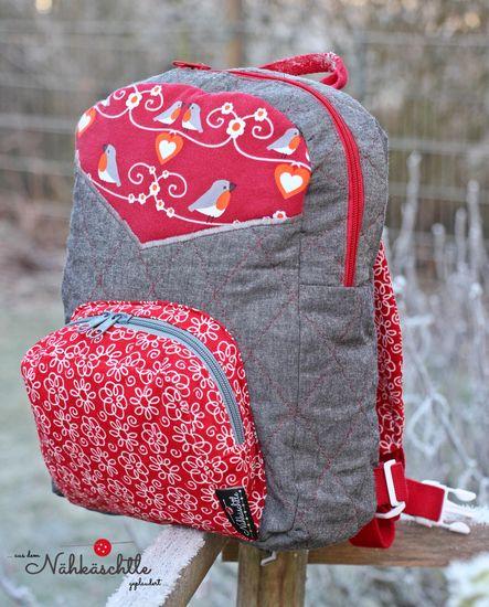 Foto zu Schnittmuster Kinder-Rucksack Mini-Halvar von LalaFab